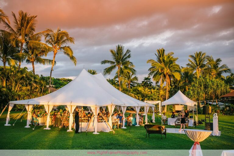 Wedding at Paradise Cove Luau Ocean Garden