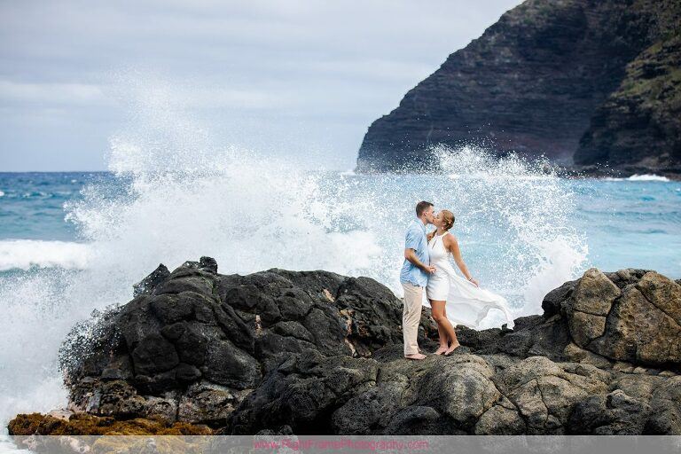 Kailua Engagement Photographer