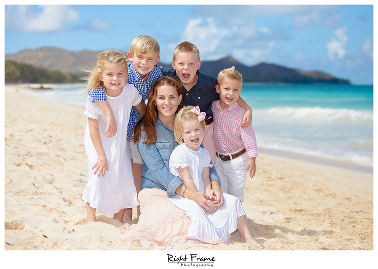 014_Family portraits in Honolulu hawaii