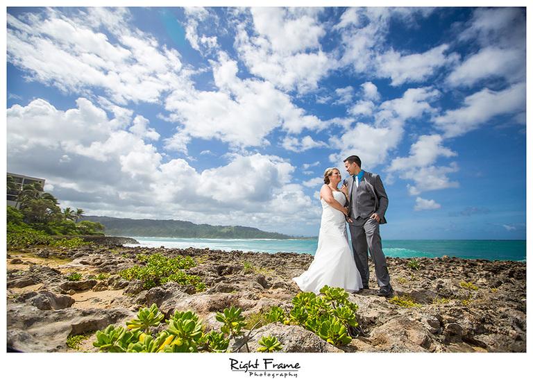 wedding photography in oahu hawaii turtle bay