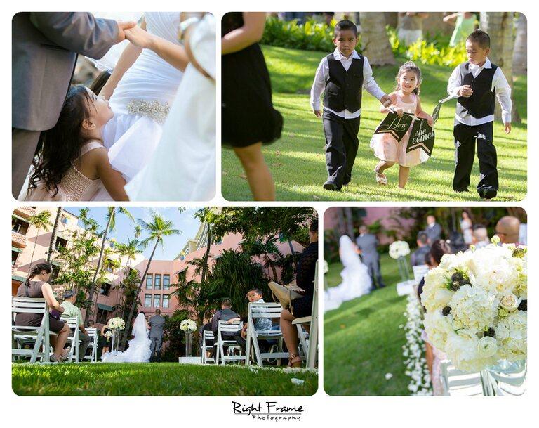 001_The Royal Hawaiian Hotel Wedding Helumoa Garden