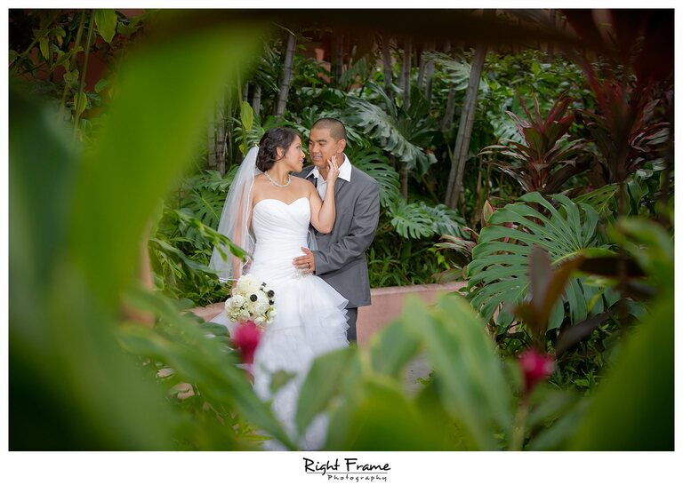 006_The Royal Hawaiian Hotel Wedding Helumoa Garden