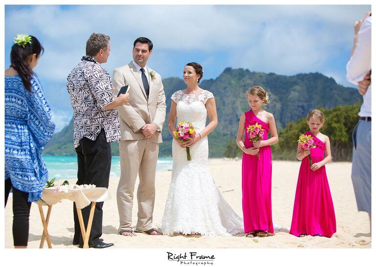 002_Oahu Beach Wedding waimanalo beach