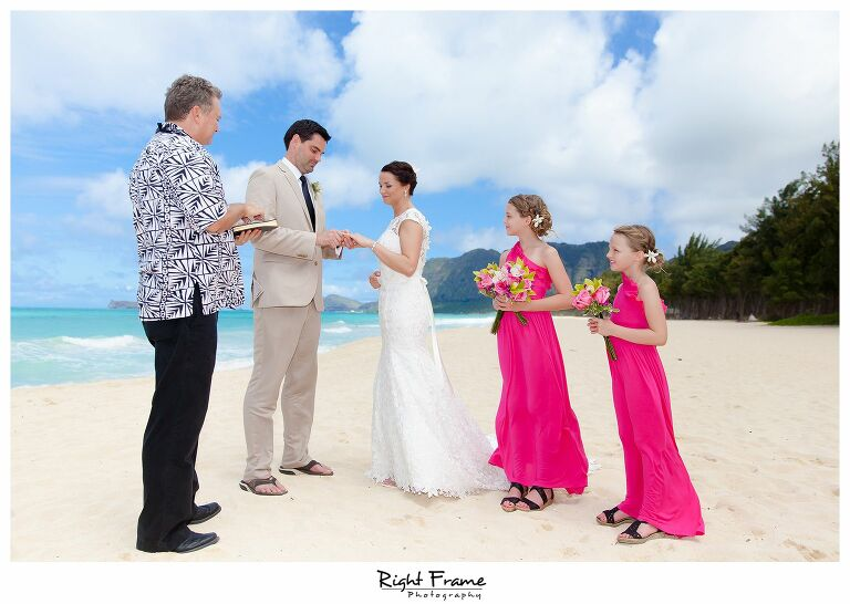 009_Oahu Beach Wedding waimanalo beach