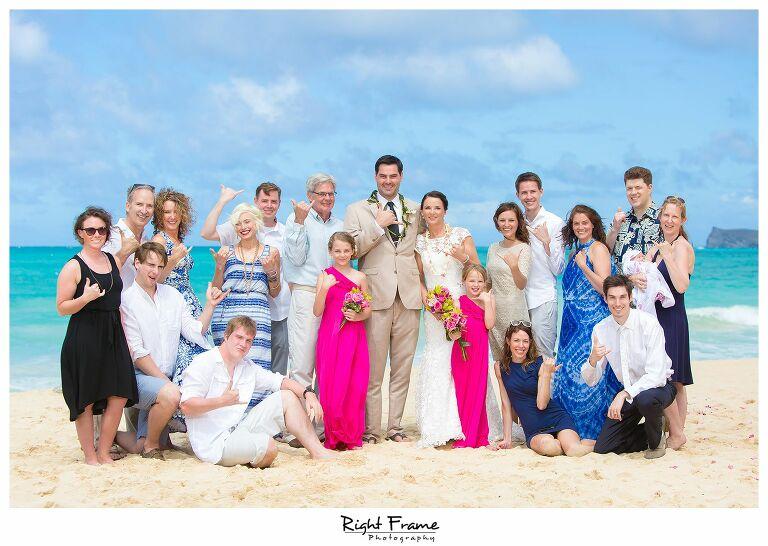 015_Oahu Beach Wedding waimanalo beach