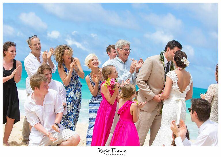 016_Oahu Beach Wedding waimanalo beach