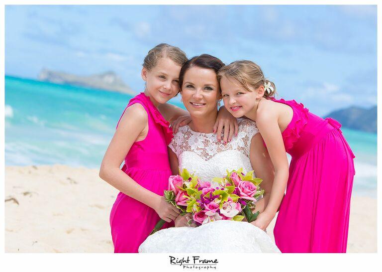 017_Oahu Beach Wedding waimanalo beach_1