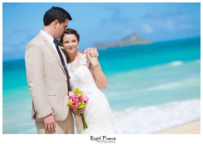 023_Oahu Beach Wedding waimanalo beach