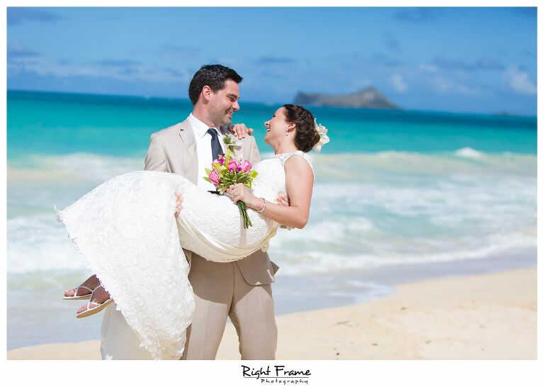 024_Oahu Beach Wedding waimanalo beach