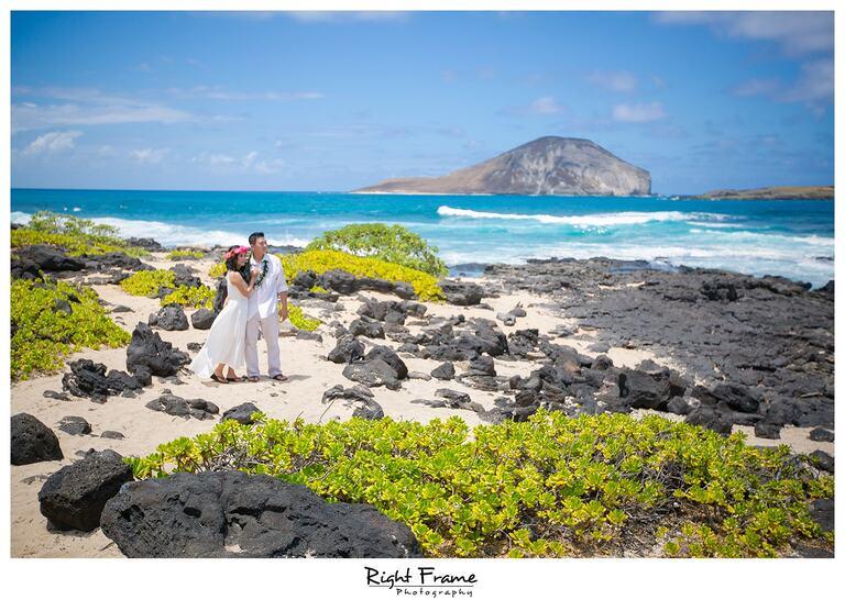 Makapuu Beach Vow renewal Oahu