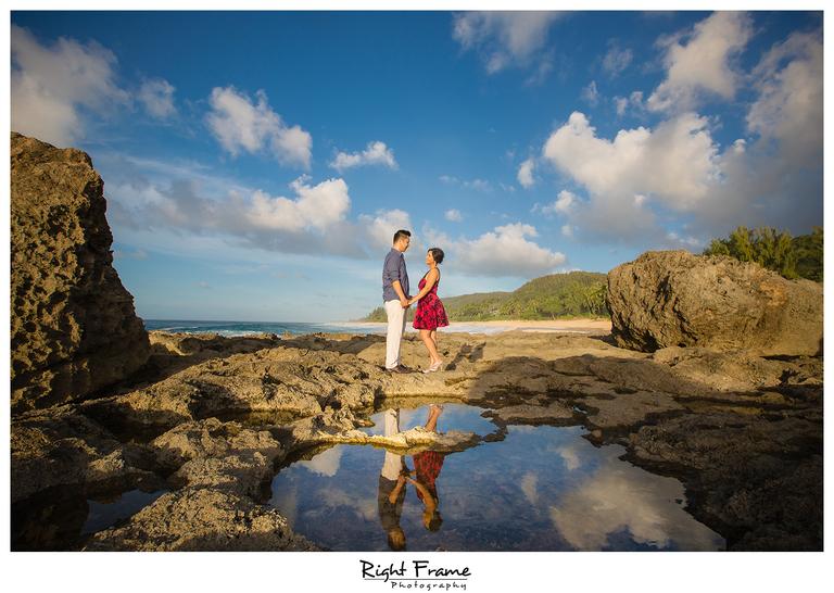 Keiki Beach North Shore Oahu Hawaii