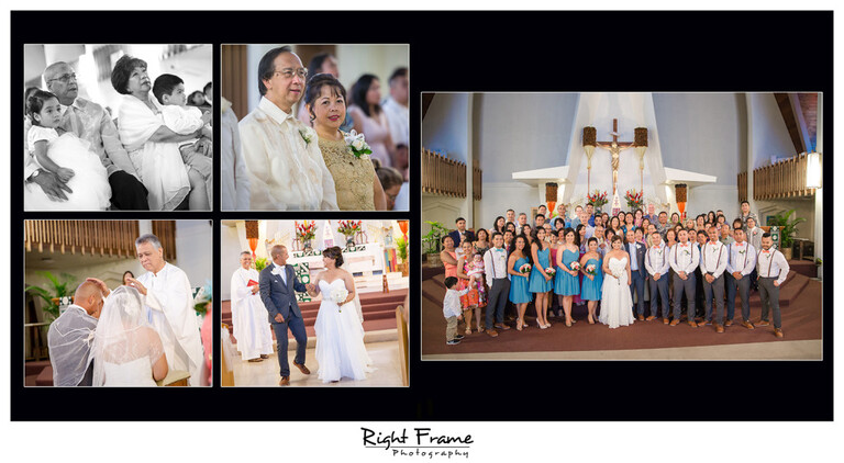 Hawaii Catholic Church Wedding Ceremony St Augustine by the Sea Parish Waikiki Photography