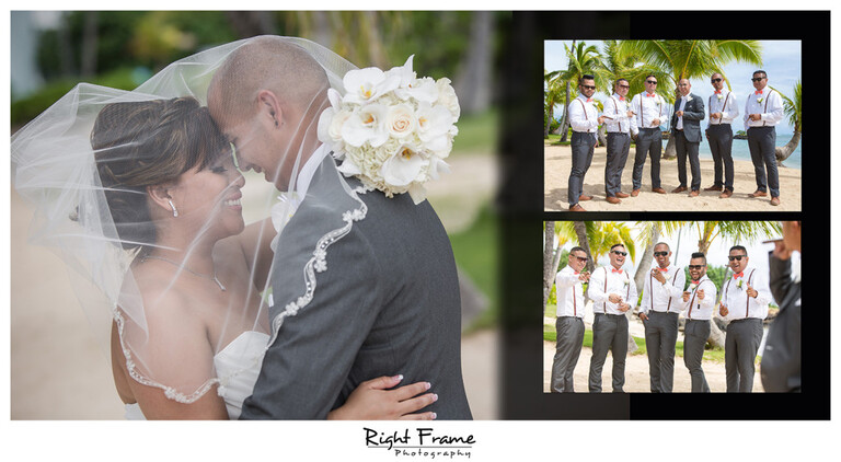 Bridal Party Kahala Beach Wedding Photos Photographer Hawaii