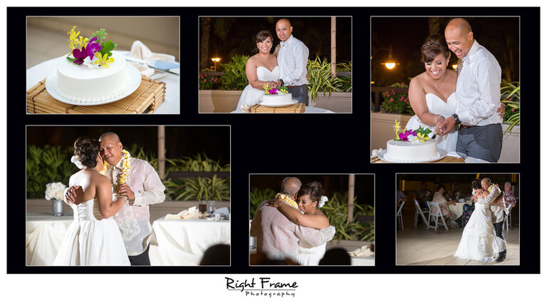 Wedding Reception at the Hyatt Regency Waikiki Beach Resort Photos Photographer Oahu