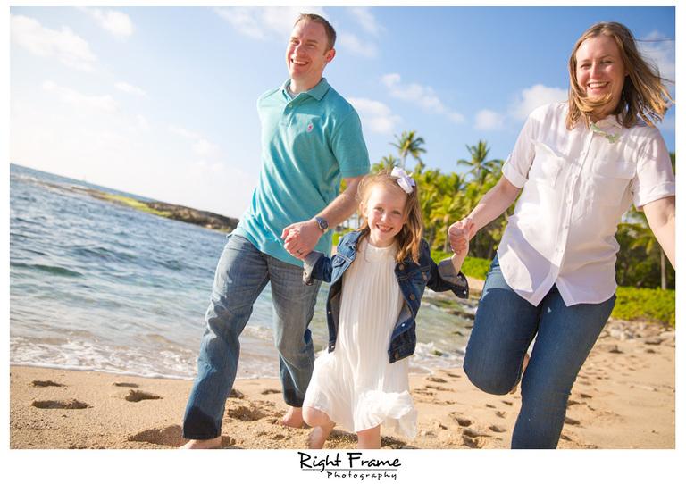 Ko'Olina Beach Family Sunset Photography Oahu Hawaii