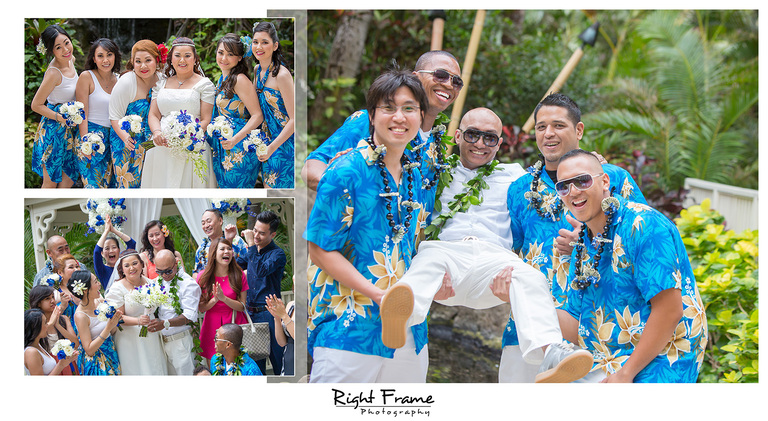 Wedding at Hilton Waikiki Beach Hotel