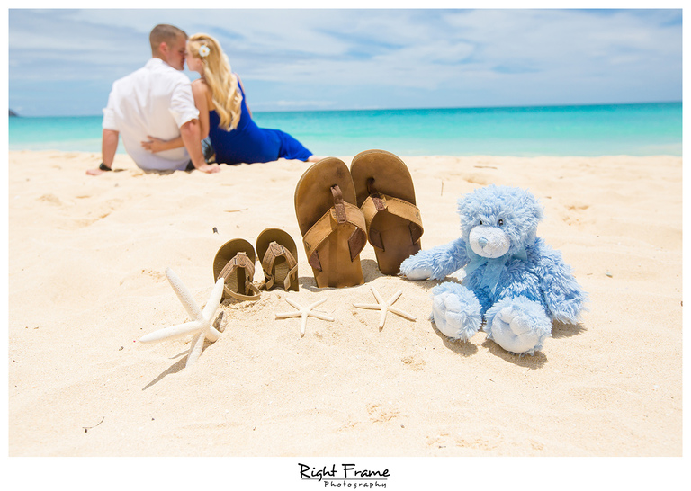 Maternity Photography Hawaii Bellows Beach