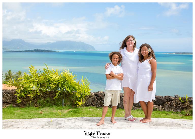 Kailua Ocean View Estate Family Photography