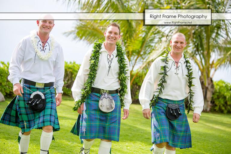 Destination Wedding in Hawaii Paradise Cove