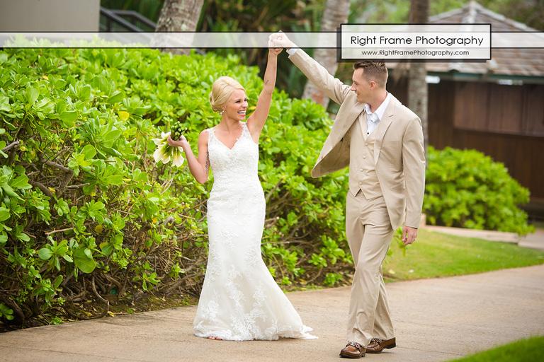 Turtle Bay Resort Hawaii Beach Wedding