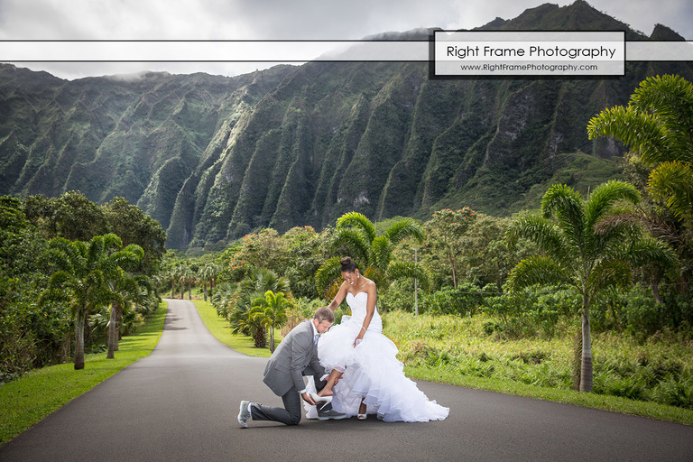 Ho`omaluhia Botanical Garden Wedding