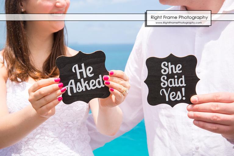 Surprise Marriage Proposal Makapu'u Lookout Oahu