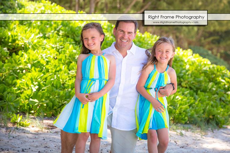 Family Beach Portraits Oahu Waimanalo Beach