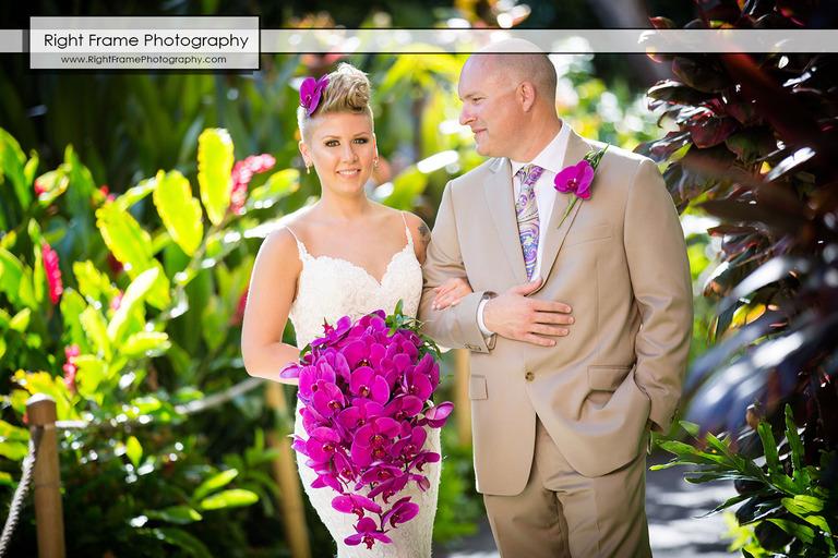 Beautiful Wedding at Heaven's Point Hawaii