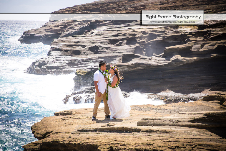 Hawaiian Vow Renewal Ceremony Oahu Hawaii