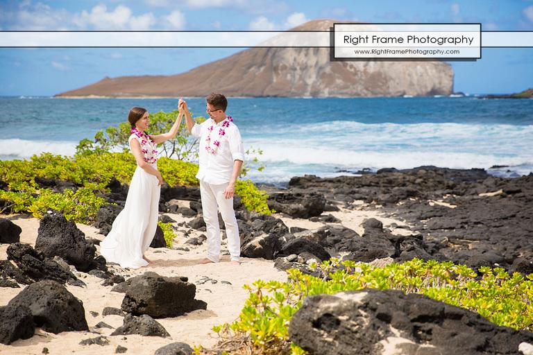 Plener slubny na Hawajach HAWAJE