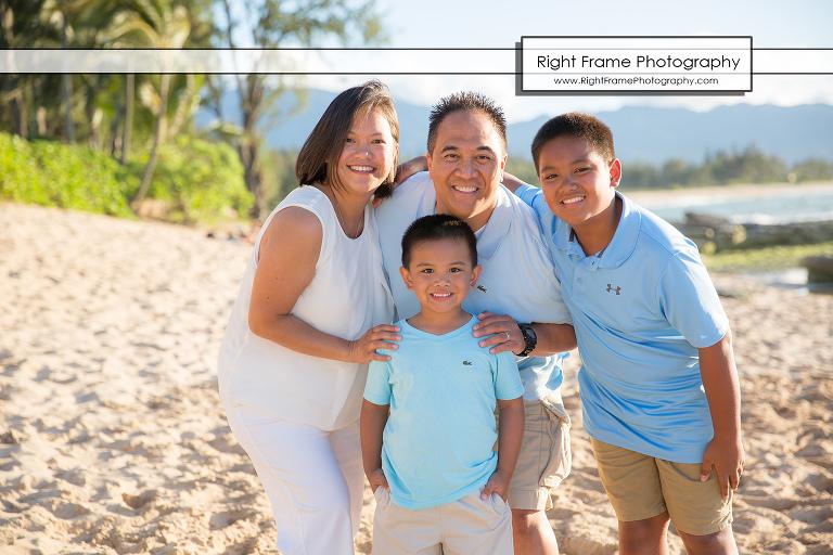 FAMILY REUNION PHOTOGRAPHY North Shore Oahu Hawaii