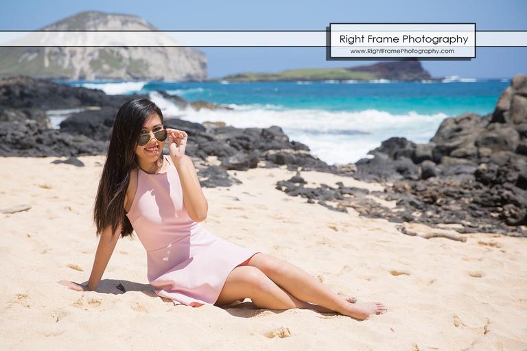 Graduation Pictures Hawaii near Makapu'u Beach