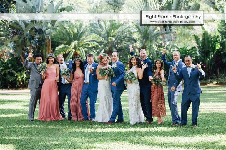 Hale Koa Hotel Wedding Pictures Honolulu Hawaii Bridal Party