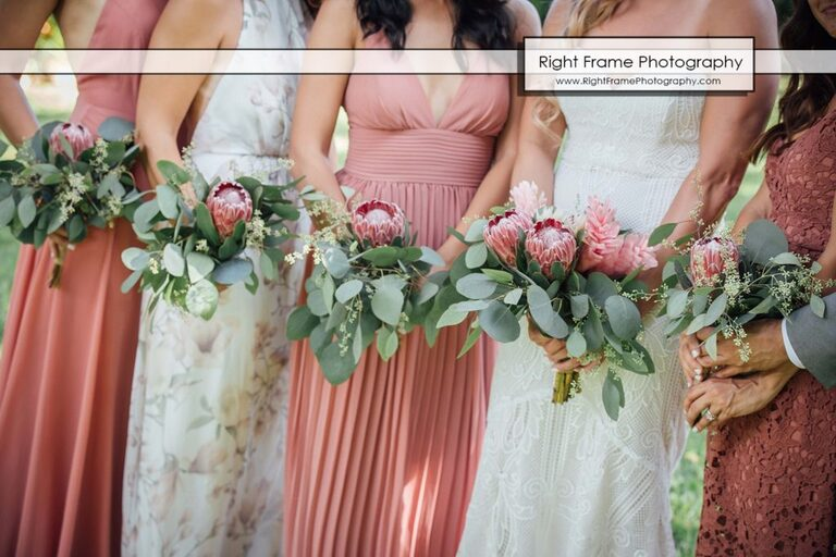Tropical Flowers Hawaii Wedding