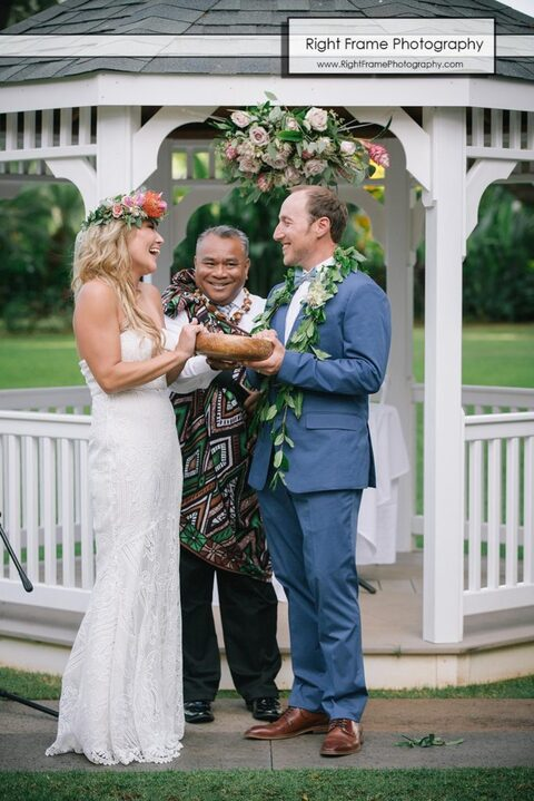 Hale koa wedding rev Jofrey Rabanal