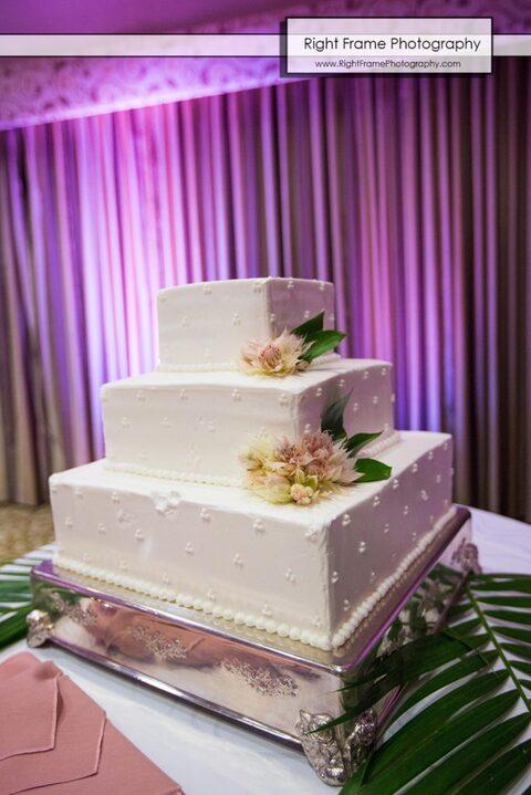 Wedding Cake in Hale Koa Hotel Waikiki
