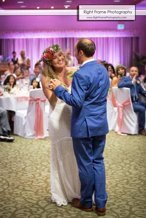 First Dance Wedding in Hale Koa Hotel
