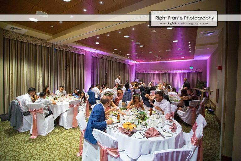 wedding reception Hale Koa Hotel Waikiki Honolulu Hawaii