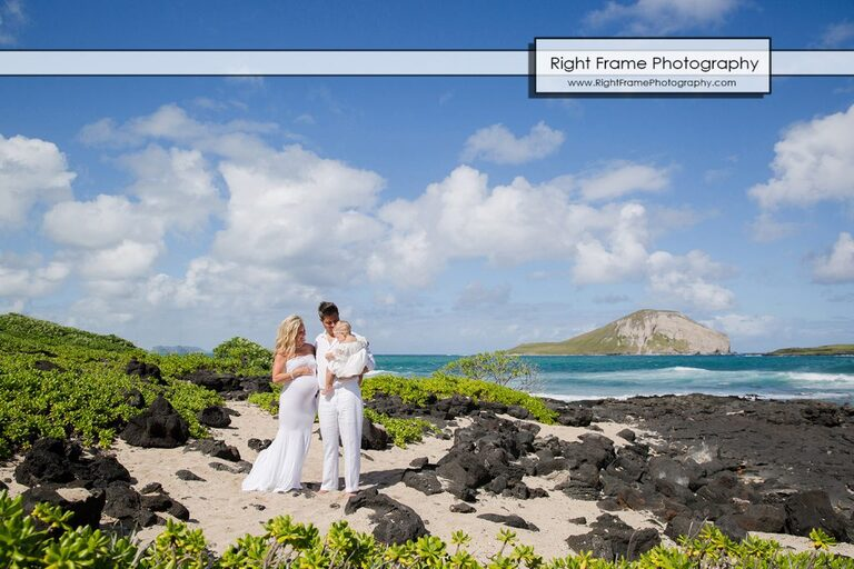 HAWAII Maternity BEACH PICTURES at Makapu'u Beach