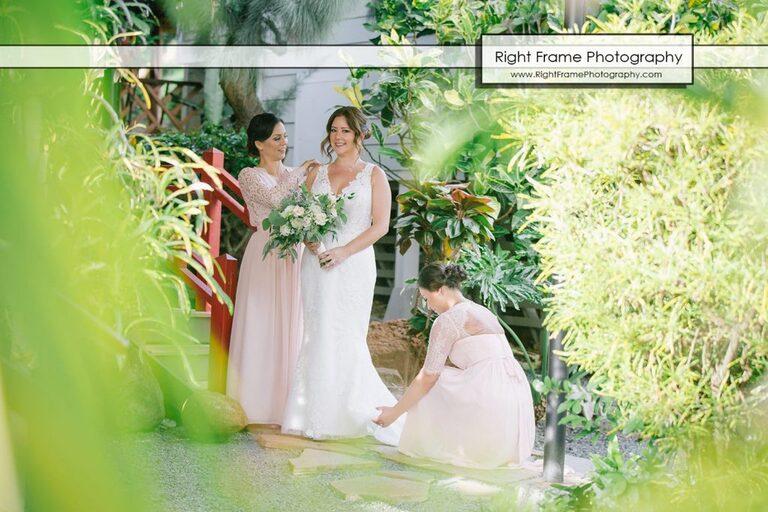 Wedding at Natsunoya Tea House Honolulu Photographer Photography