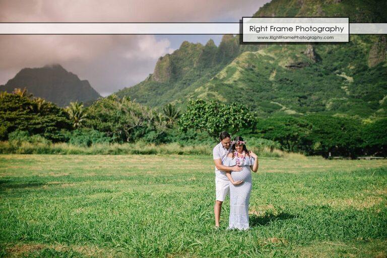 affordable Oahu Maternity Photographer Hawaii Photography photos dress Honolulu