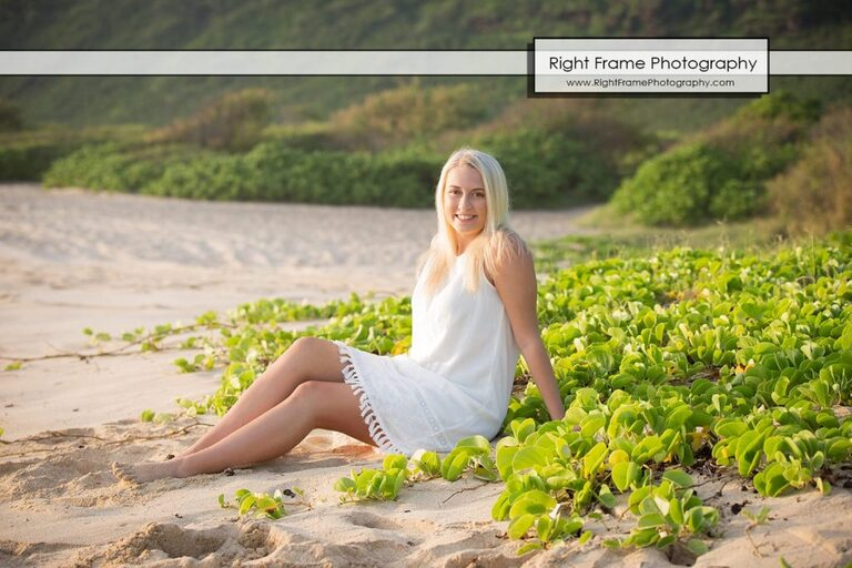 Oahu Family Photos at Keawaula Beach Hawaii