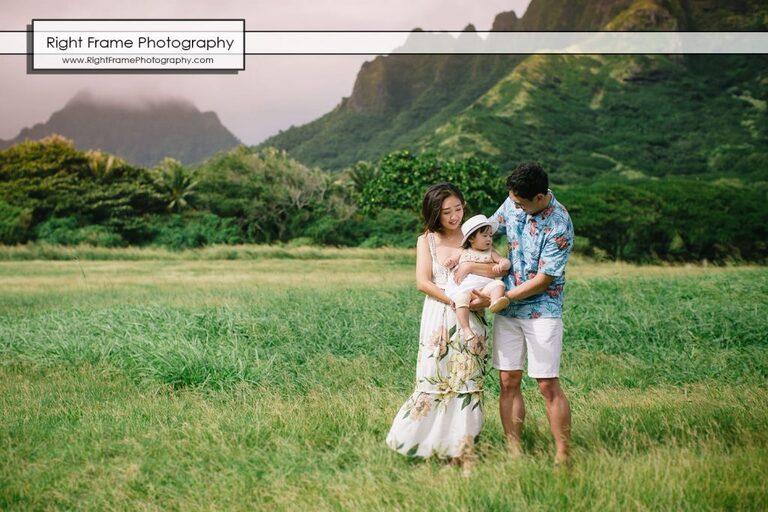 family professional photographers near Disney Aulani Resort Ko Olina Kualoa regional Park