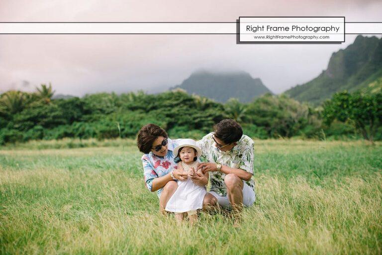Kualoa regional Park family photographer