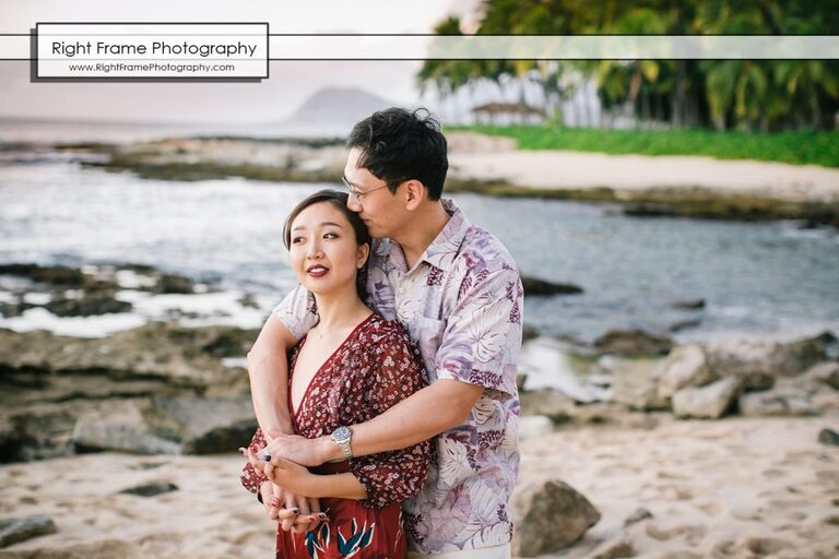 Oahu couple photography