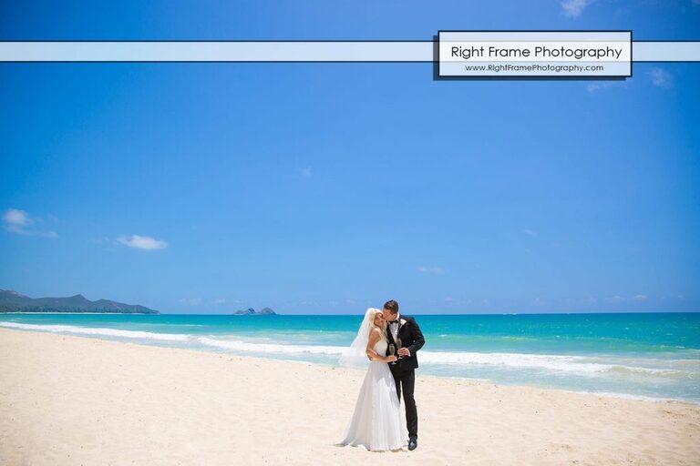 Small and Intimate Oahu Wedding at Waimanalo Bay Sherwood Forest Hawaii