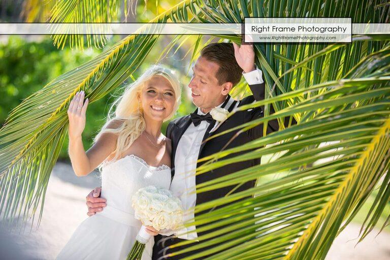 Small and Intimate Oahu Wedding at kahala beach Hawaii