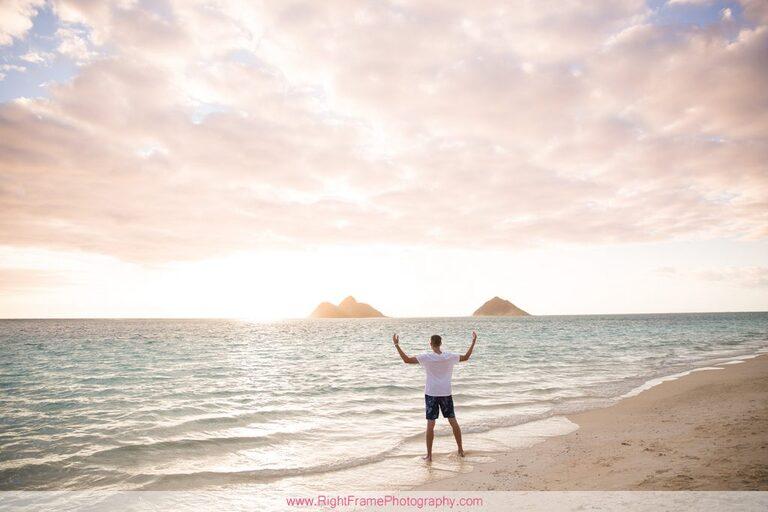 Sunrise at Lanikai Beach Family Photography
