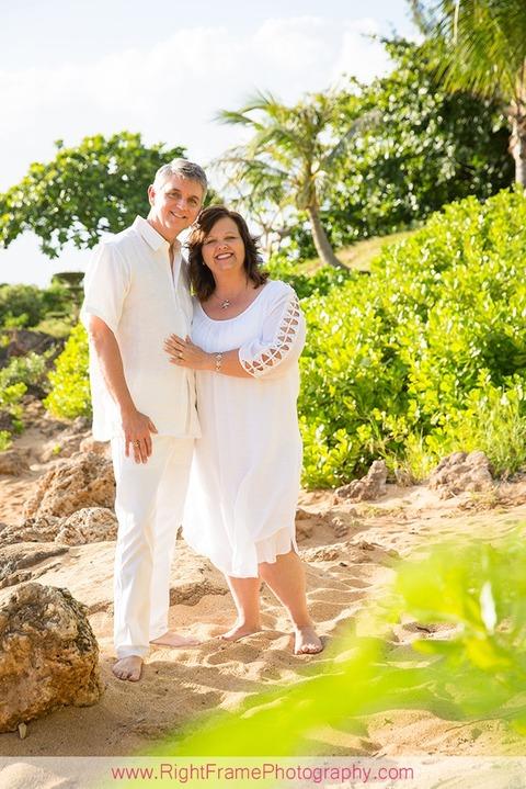 25th Anniversary photo shoot in Hawaii