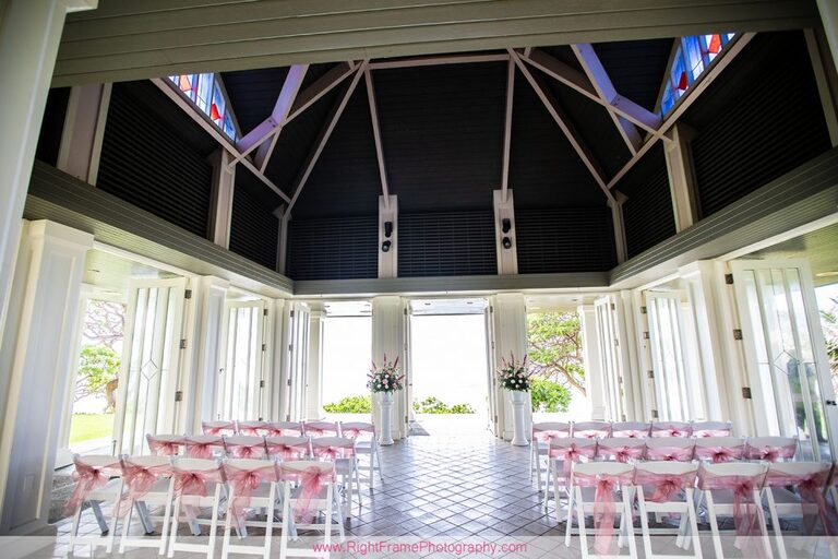 Turtle Bay Wedding Photos Oahu Hawaii Pavilion